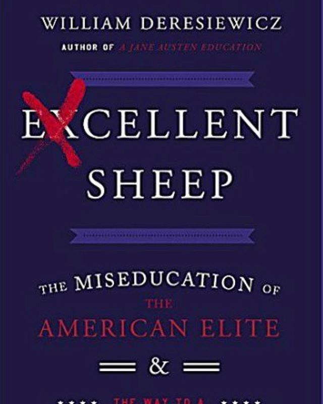 We are super excited to interview #williamderesiewicz today about his book #excellentsheep! We also hope to address the college fraud scandal too so look out for the episode this Wednesday! #failure #podcast #education #collegecheatingscandal