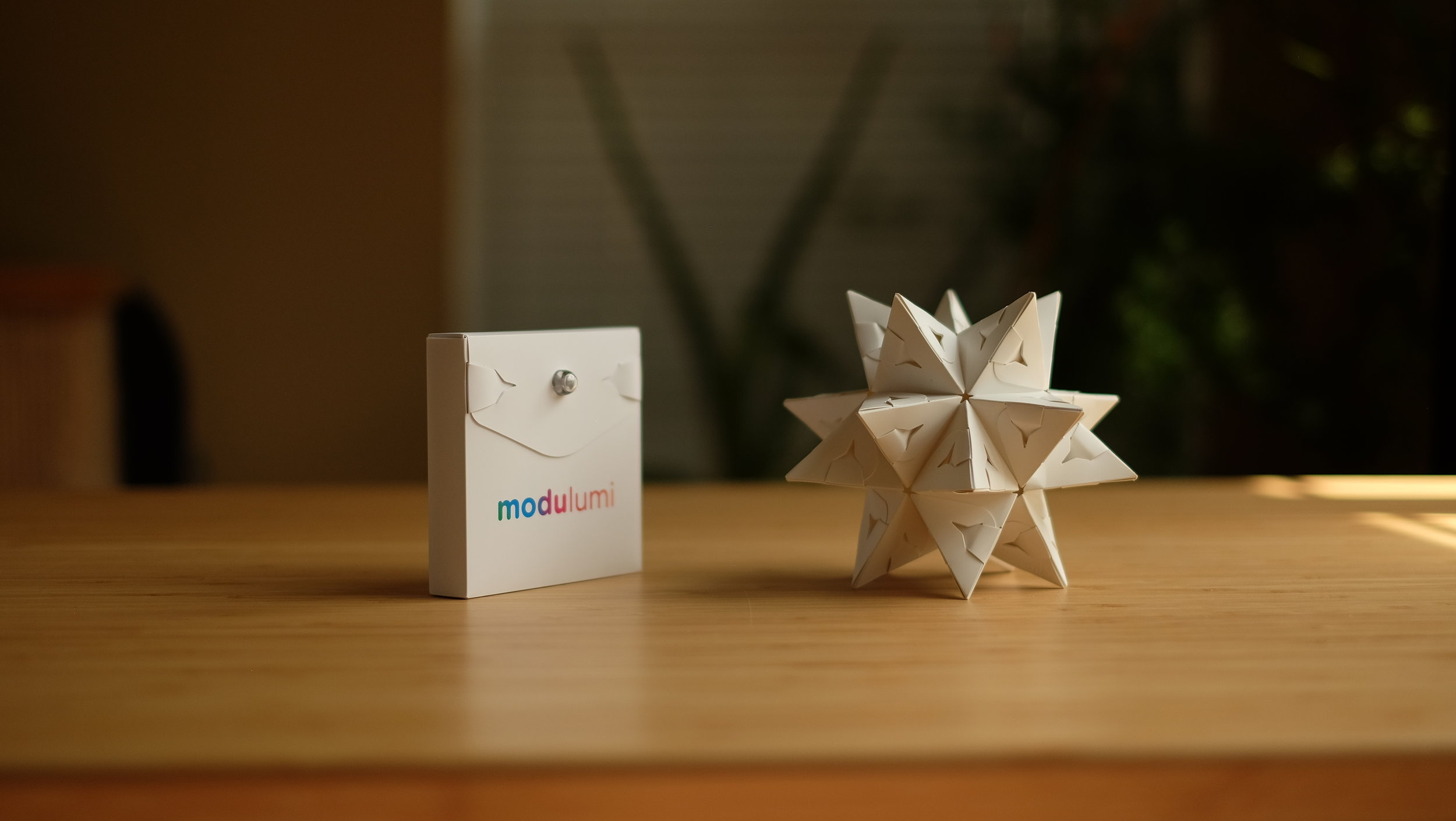 Modular origami – Polypompholyx | 1409x2500