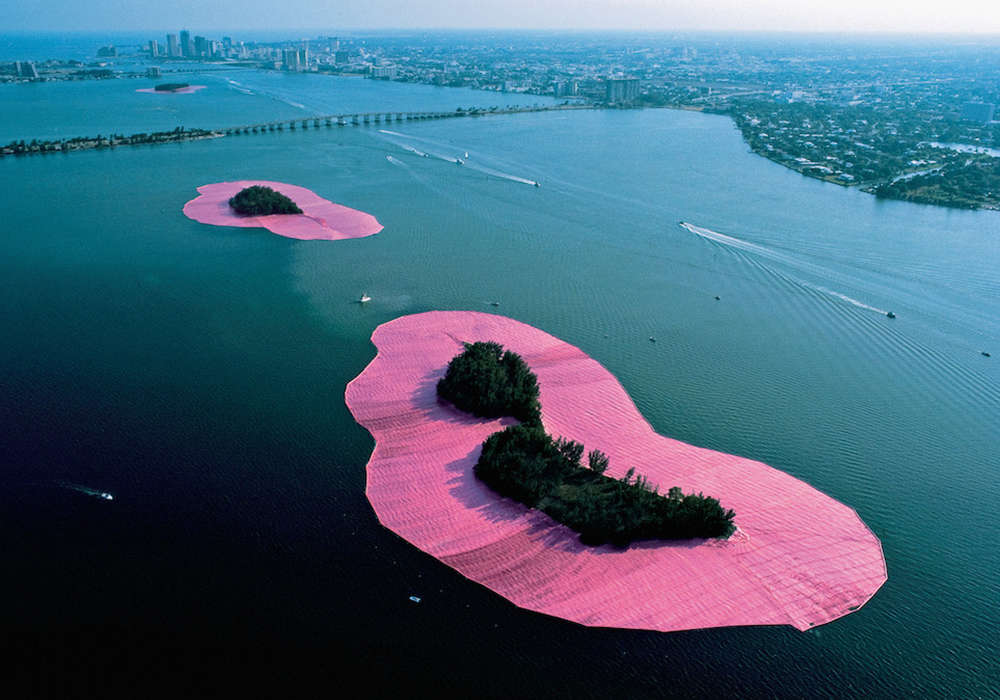 The Bellwether in Biscayne Bay: Christo and Jean-Claude's Surrounded Islands