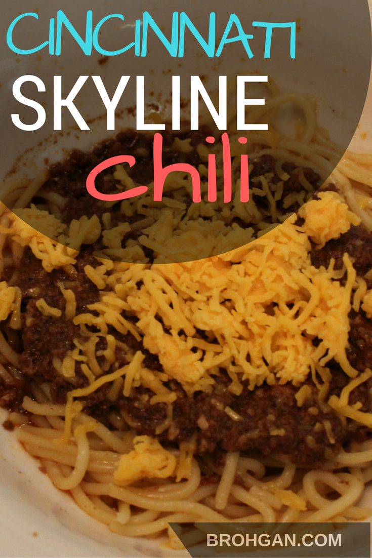This recipe has been in my family for almost 30 years! This spiced meat sauce is cooked for at least 4 hours and then served over spaghetti. Traditional toppings include cheddar cheese, diced onions, oyster crackers, and beans (we skip the beans).