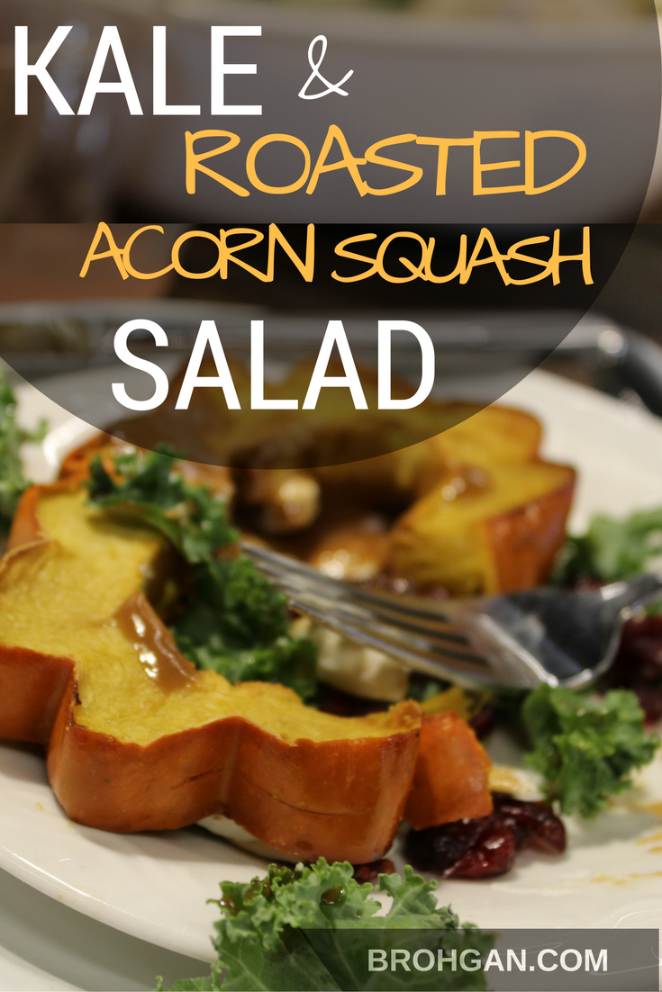 This salad--kale, roasted acorn squash, goat cheese, sliced pears, dried cranberries, pumpkin seeds, and honey balsamic dijon dressing--is dramatic yet packed with fiber-rich superfoods. An attention getting show-stopper that is perfect for any meal or event. It is the remedy for the end of summer blues and eases the transition to fall. Save this recipe for the honey balsamic dijon dressing alone! So yummy!