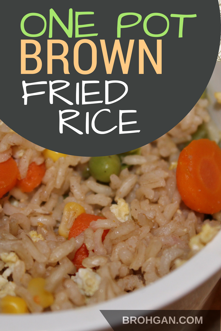 This simple one pot recipe uses brown rice, frozen veggies, eggs, and soy sauce to make fried rice. It's great for those evenings when even takeout seems likes too much effort. Brown rice provides whole grains and fiber, which are an essential part of a healthy diet.