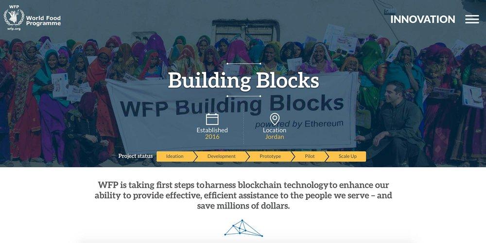 World Food Program – Building Blocks