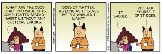 Data Bias Dilbert