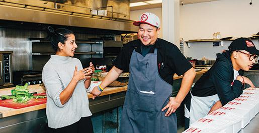 Kitchen founders Sabrina Mutukisna and Jefferson Sevilla