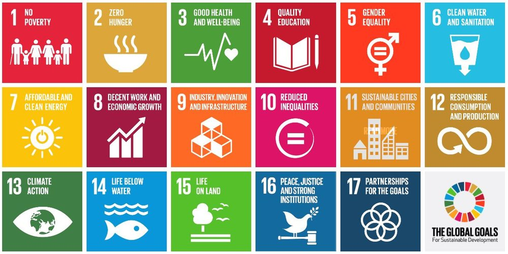 The Sustainable Development Goals (SDGs) are 17 Goals to Transform Our World by 2030.