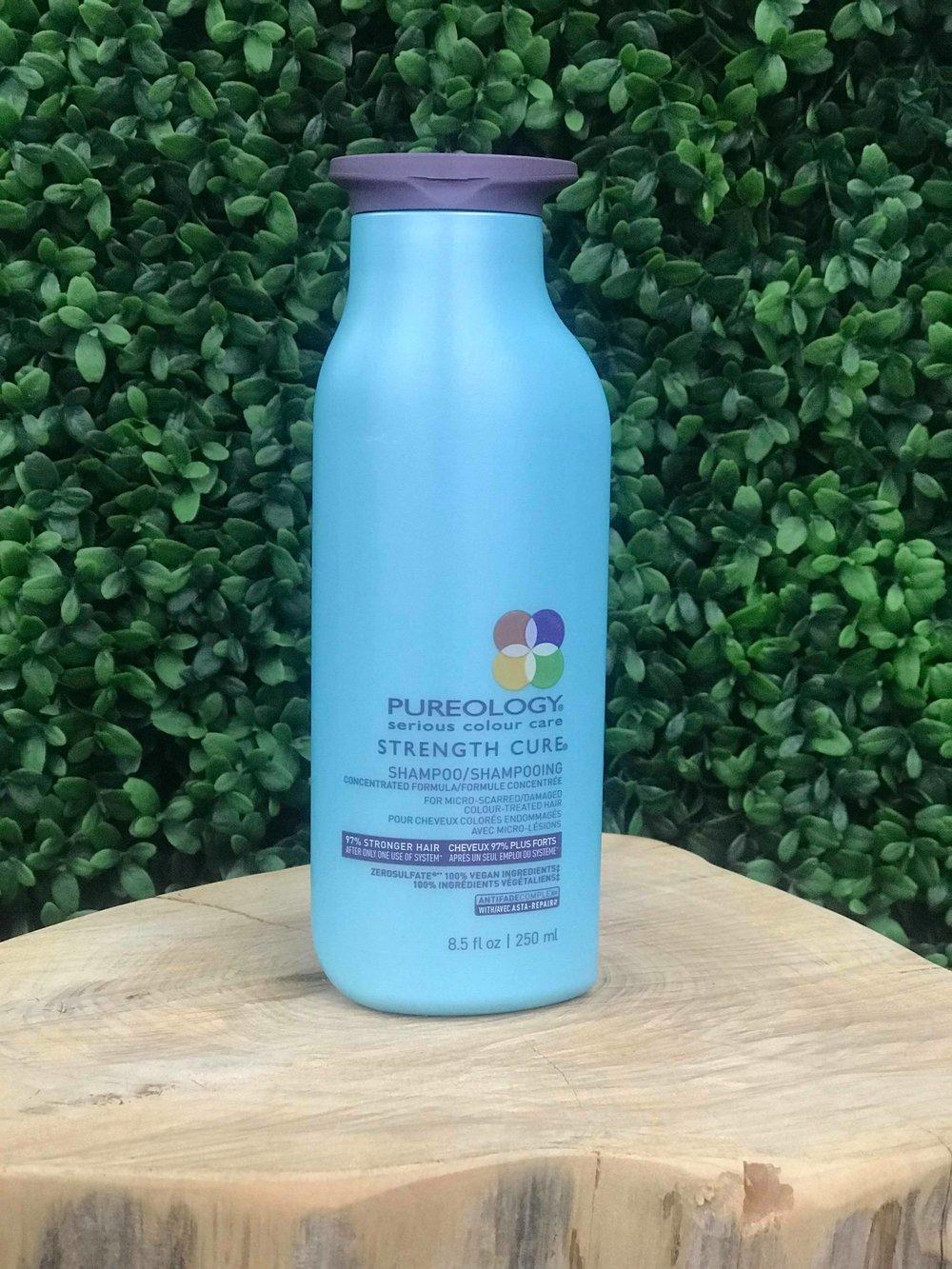 Strength Cure Shampoo 250ml - $41.00