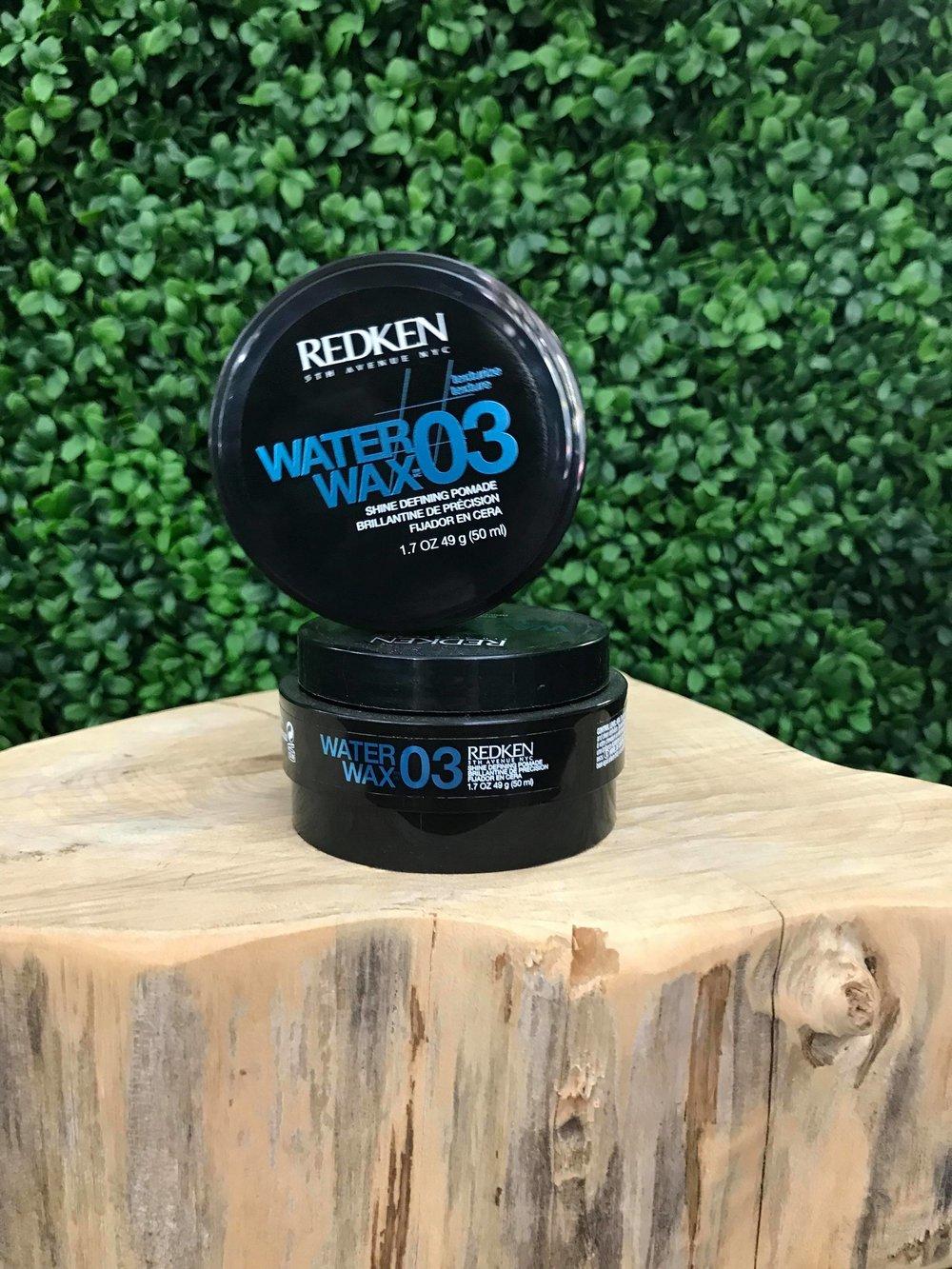 Water Wax- Shine Defining Pomade 03 50ml - $38.00