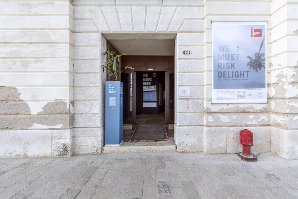 Exhibition entrance. Photo by Stefano Leoni