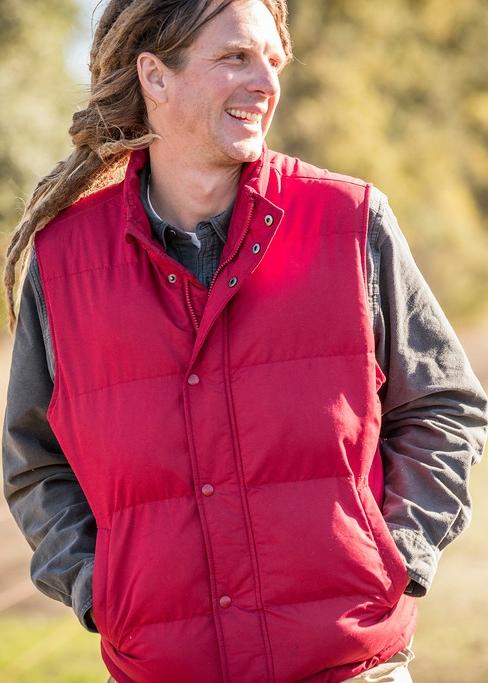 Joseph Brinkley , Director of Organic & Biodynamic Vineyards, Bonterra Organic Vineyards   Image via Bonterra