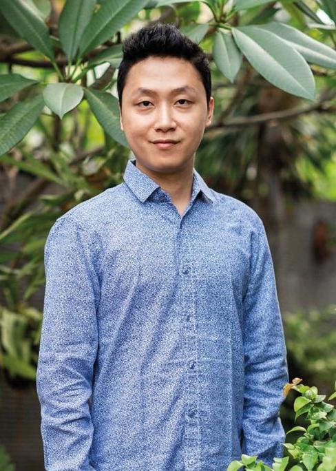 David Christian , co-Founder, Evoware   Image via    Prestige Online