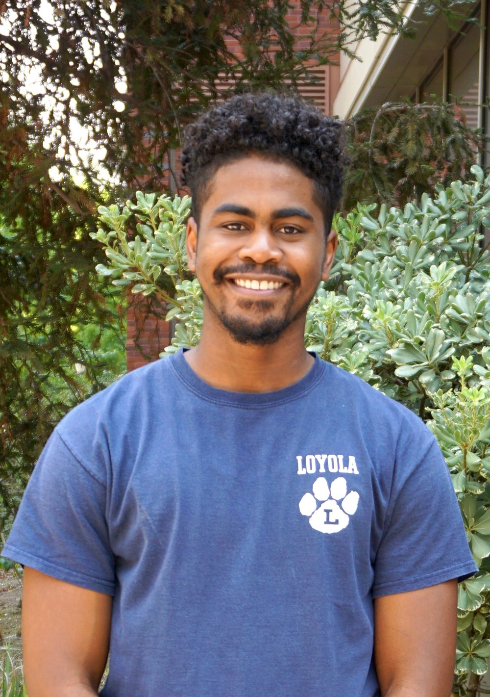 Lenny Washington is studying Environmental Science at UCLA. He hopes to purse a career in sustainable business.  Fun fact: He is the third Lenny Washington in his family.