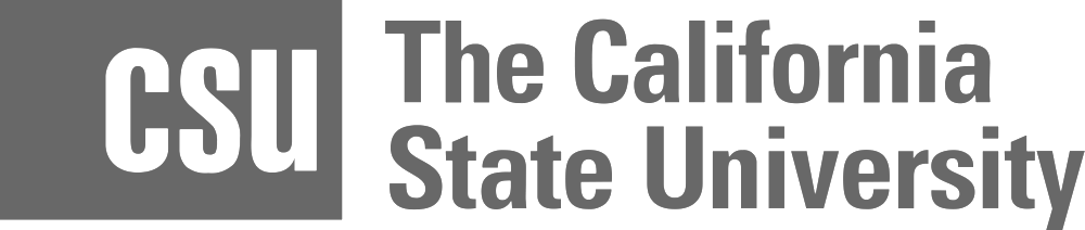 The California State University logo