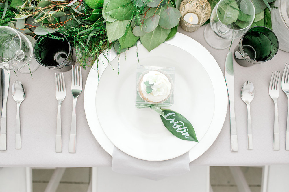 Greenery Styled Shoot