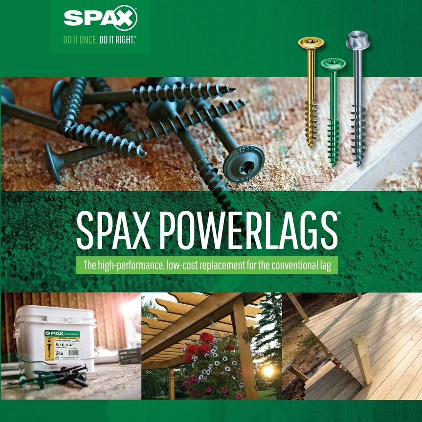 SPAX® PowerLags®