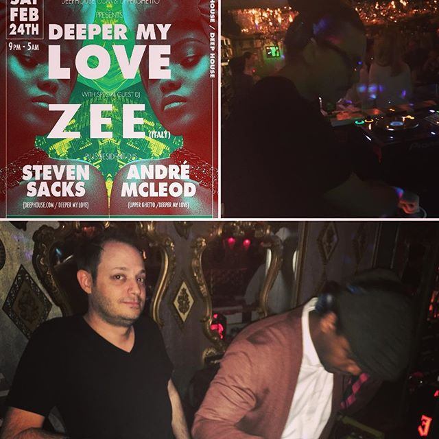 A huge thanks and much love to everyone who came out and made last night's Deeper My Love special! @matteozarcone from Italy tore it up with 2 inspired sets. See you next month at Tokyo's new deep house monthly! . . . #deephouse #housemusic #underground #saturdaynight #tokyo #japan #dj