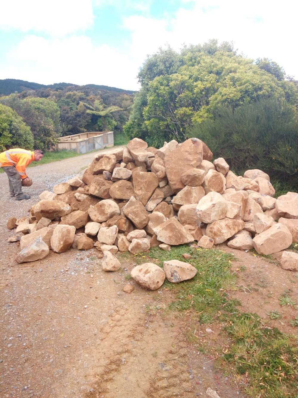 Big old pile of rocks