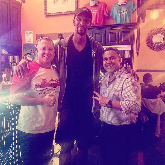 Christ Bosh from the Miami Heat visiting us here at Casa Martin. Thank you for your support and we hope to see you again. #basketballgame #miami #miamiheat #nbafinals #santamonica #beachbody #beachlovers #mexican #restaurant #mexicanrestaurant #authenticmexicanfood #santamonicapier #beachlifestyle #celebritystyle #celebreties #celebritynews #sports #champions #santamonicarestaurant #chrisbosh