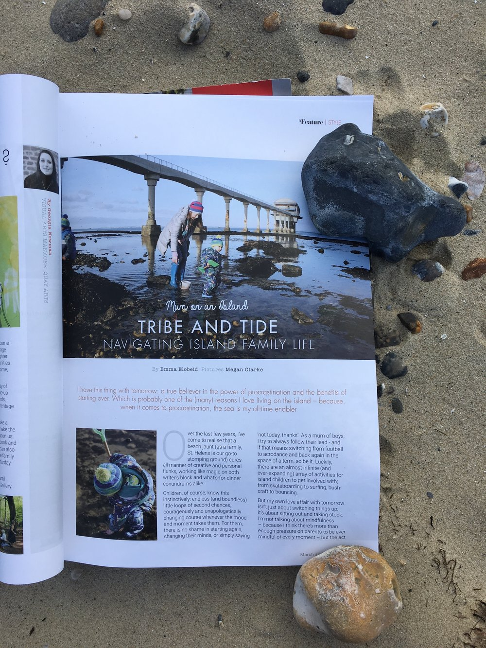 column: tribe & tide //  Style of Wight Magazine