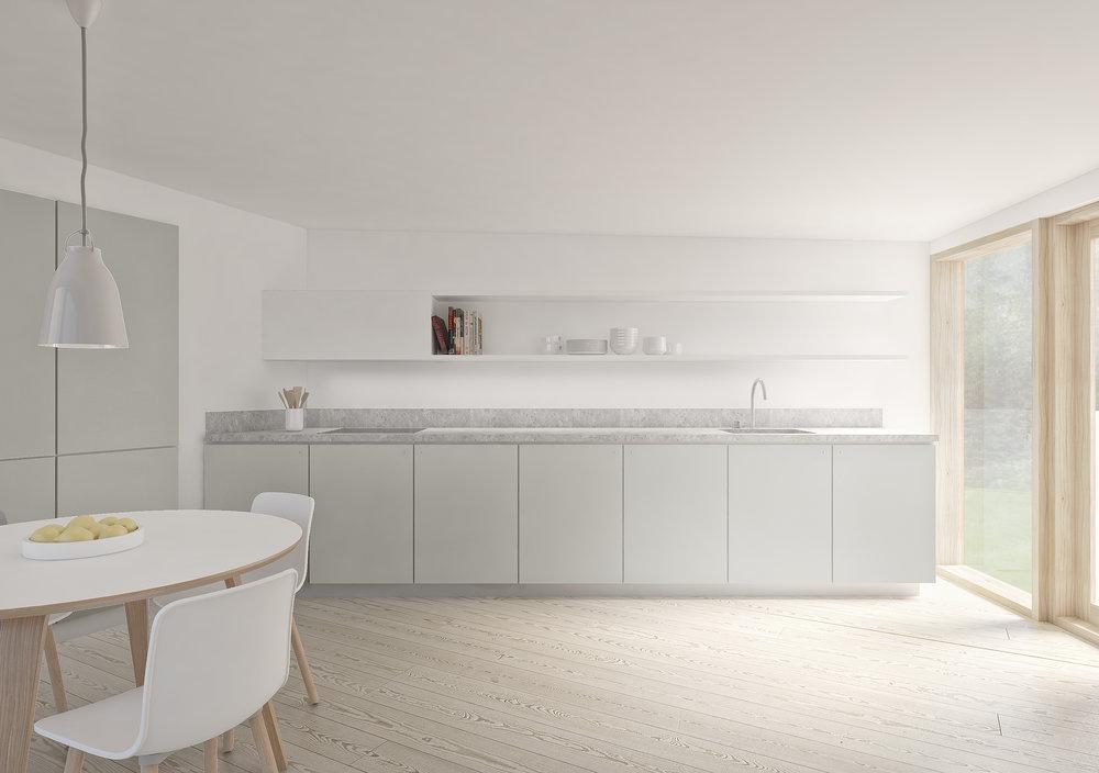 Visualisering af køkken