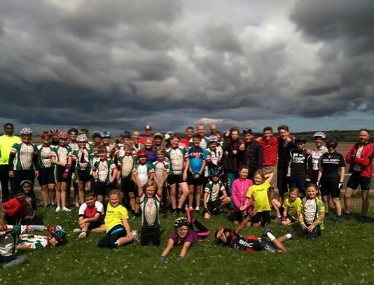 Youth ride. See you again on the 26th August #tawvelo #youthride #cycling #itsgonnarain