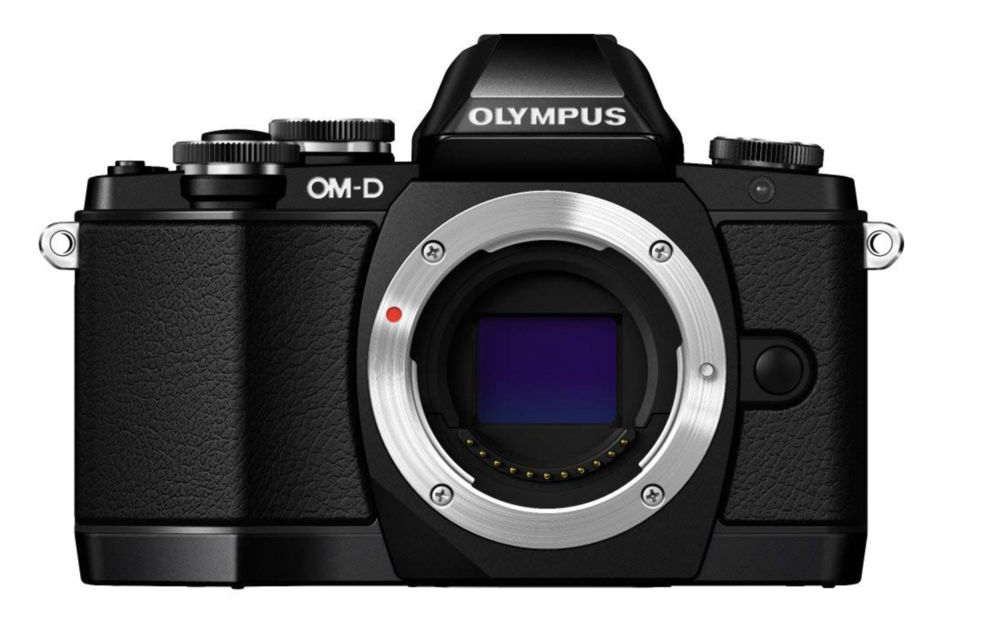 Olympus EM10 Mark I - This comes in WELL under budget, and while it's getting on a bit now, it's still a really solid offering.
