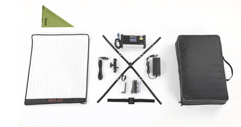 FalconEyes RX18TD - Great light. Maybe buy safety goggles to assemble the tent softbox ;)