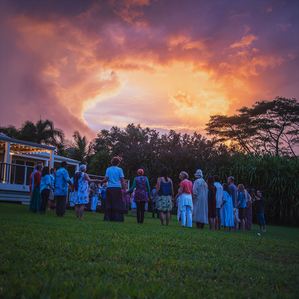 First day of the November Council, Kauai. Photo by Ian Merculieff