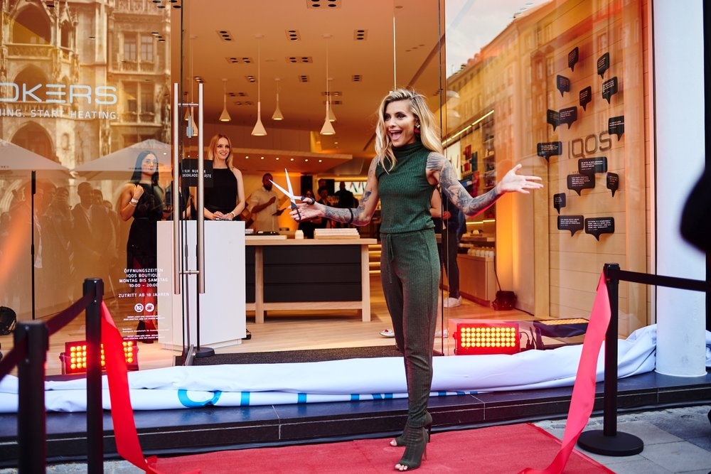 Philip Morris - IQOS Boutique Openingund Influencer-Event