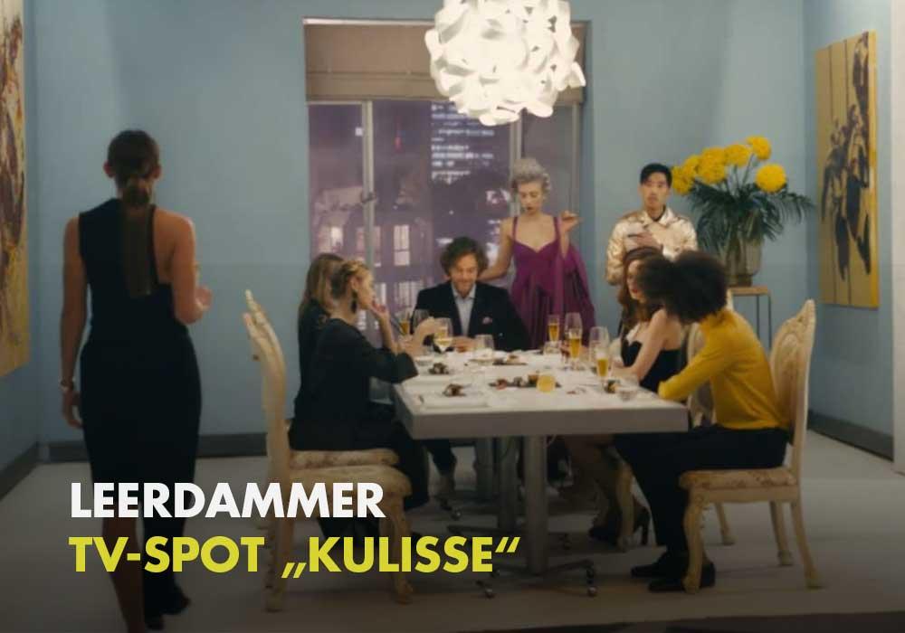 Leerdammer - TV-Spot Kulisse