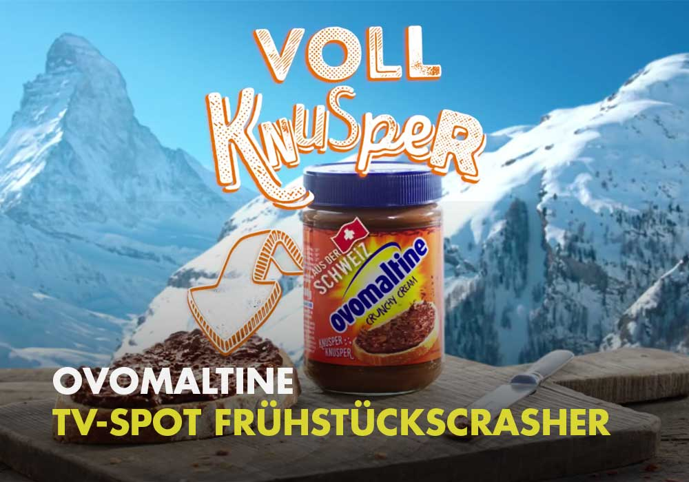 Ovomaltine - TV-Spot Frühstückscrasher