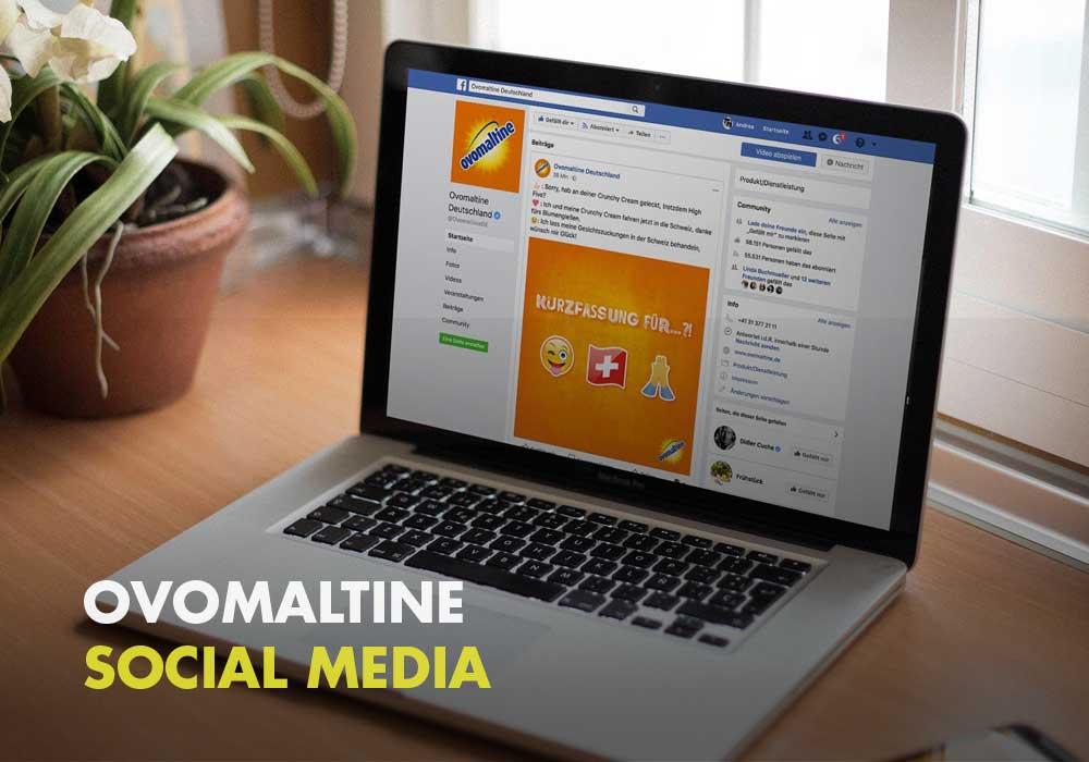 Ovomaltine - Social Media