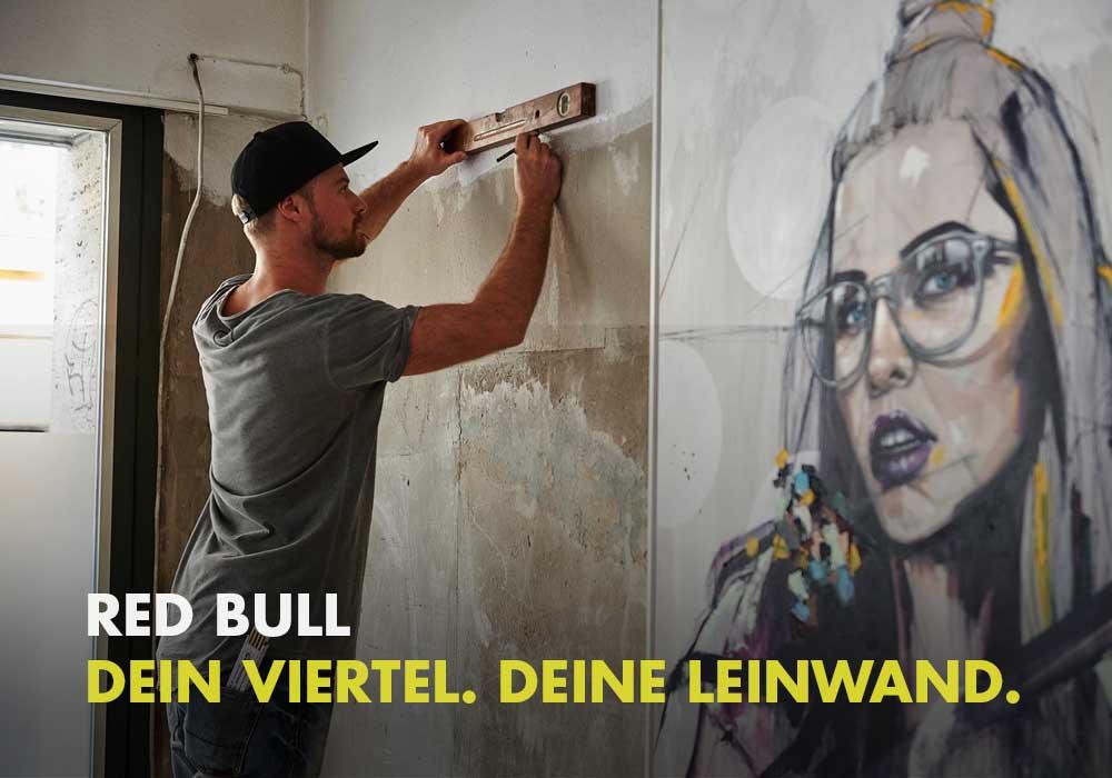 Red Bull - Dein Viertel. Deine Leinwand.