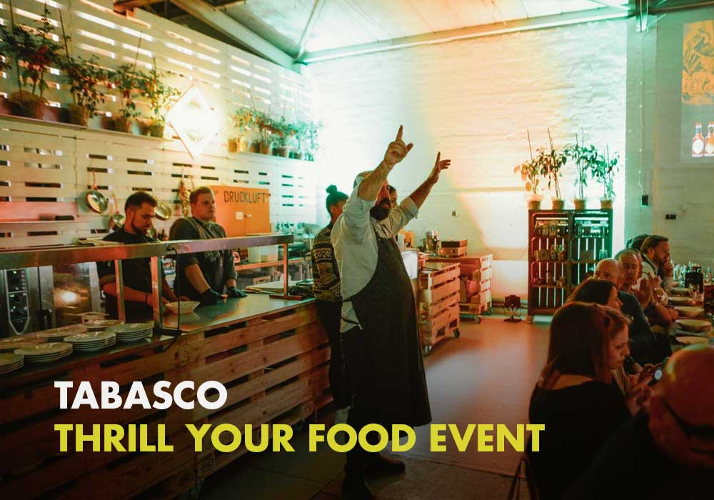 Tabasco - Thrill your Food Event