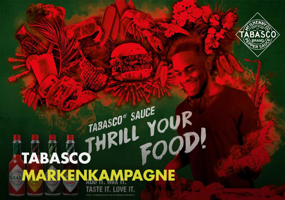 Tabasco - Thrill your Food