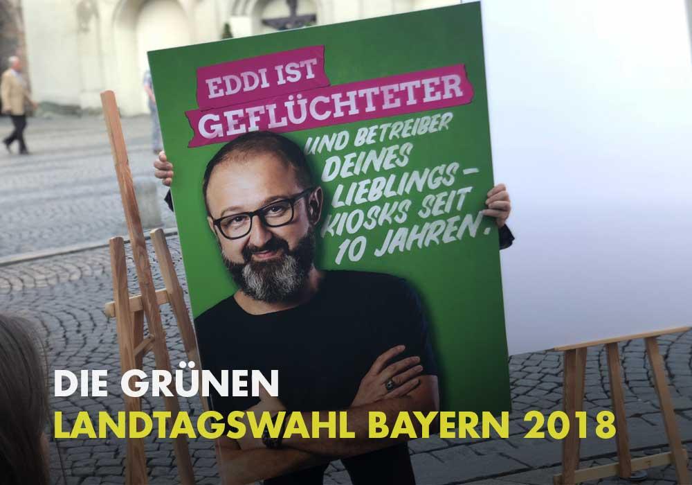 Die Grünen - Landtagswahl Bayern 2018