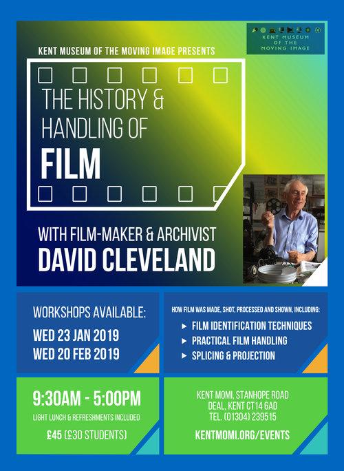 Workshop The History Handling Of Film Kent Momi