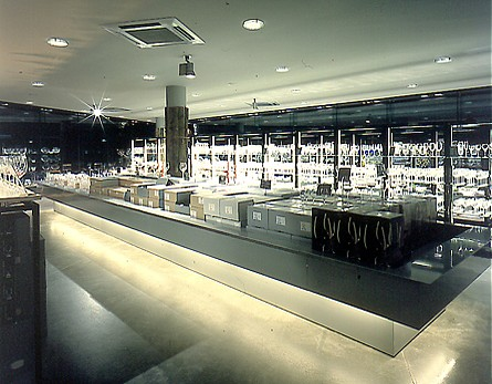 Riedel Crystal Showroom, Kufstein