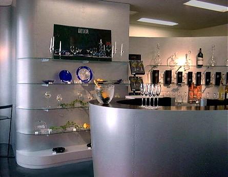 Riedel Crystal Showroom, Tokyo