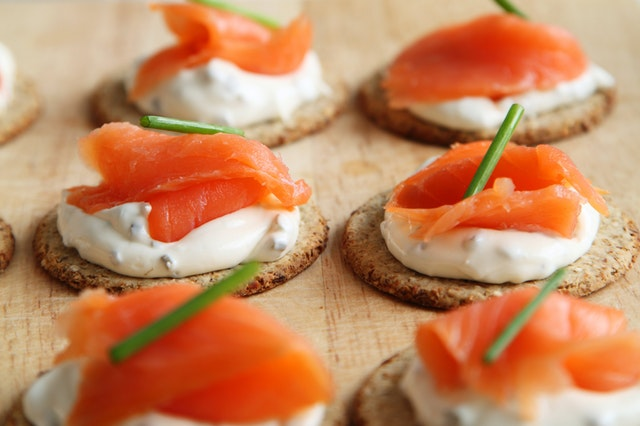 Canapes from The Nags Bar and Kitchen