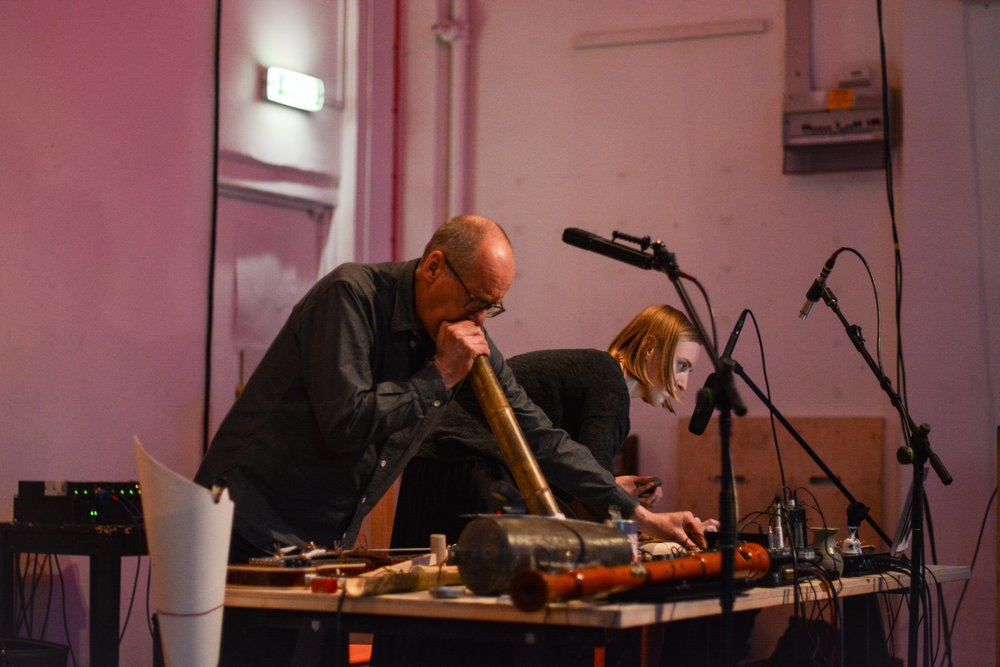 IKLECTIK - duo with David Toop (objects, electronics, field recordings)13th May 2018