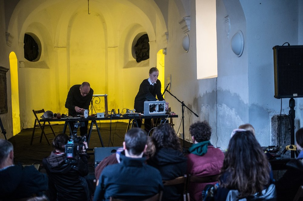 Ji.hlava International Documentary Film Festival - duo with David Toop (objects, field recordings, electronics)27th October 2018