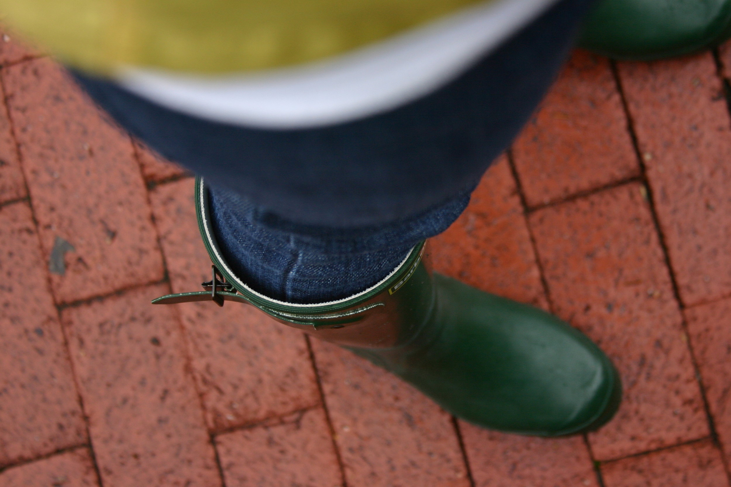 Rain boots, Capitol Hill, Fall 2011, Photo Credit: Kate Gallery