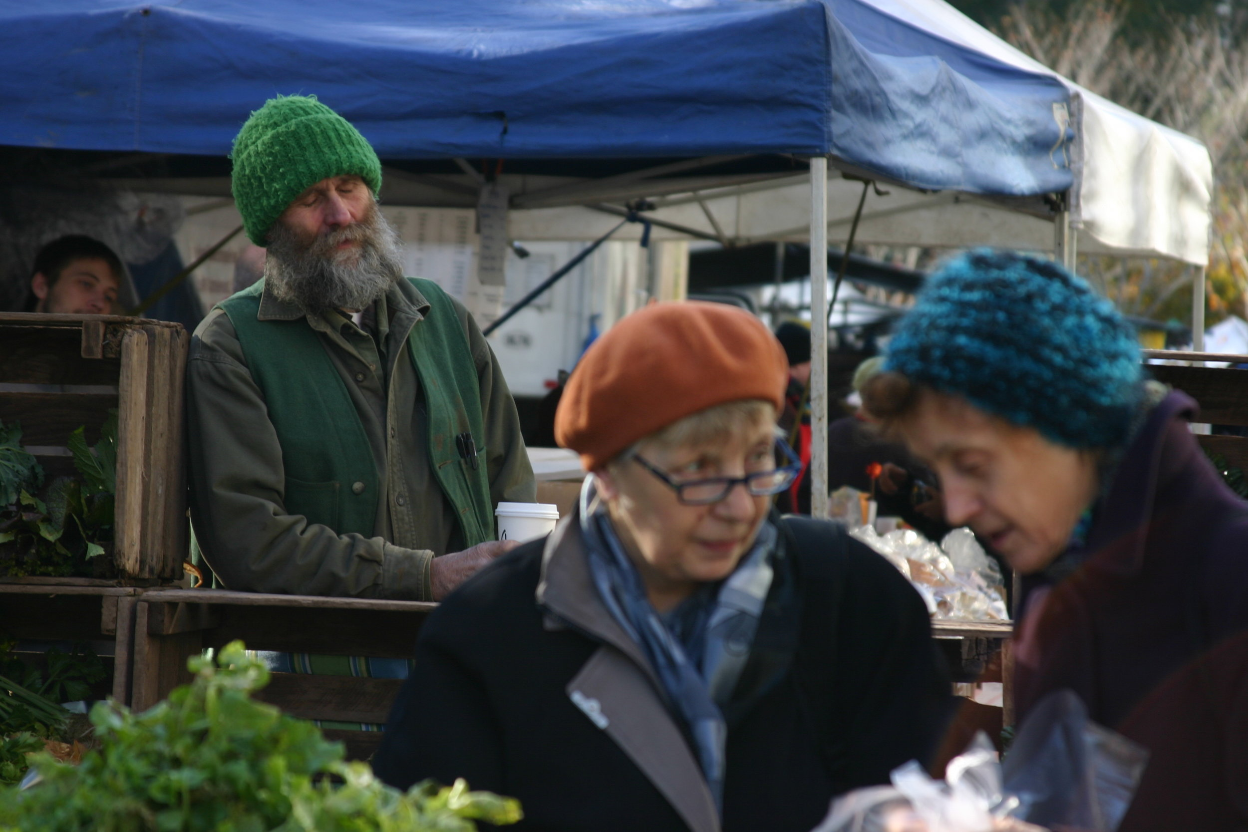 Union Square market, New York, Fall 2011, Photo Credit: Kate Gallery