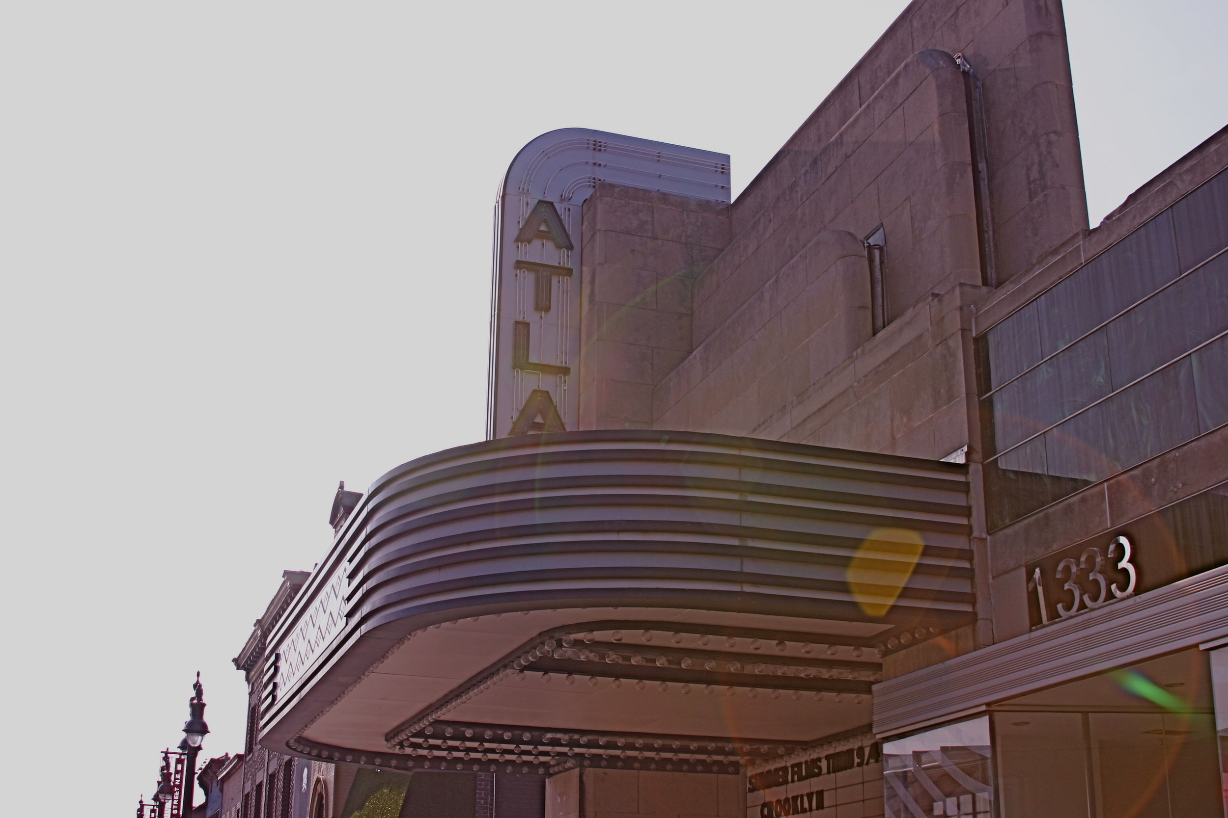 Atlas Theater, H Street NE, Washington, DC, July 2011
