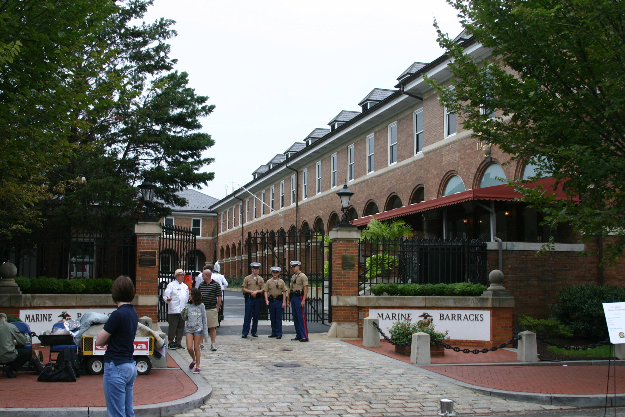 Marine Barracks, Barracks Row, Capitol Hill, Washington, DC