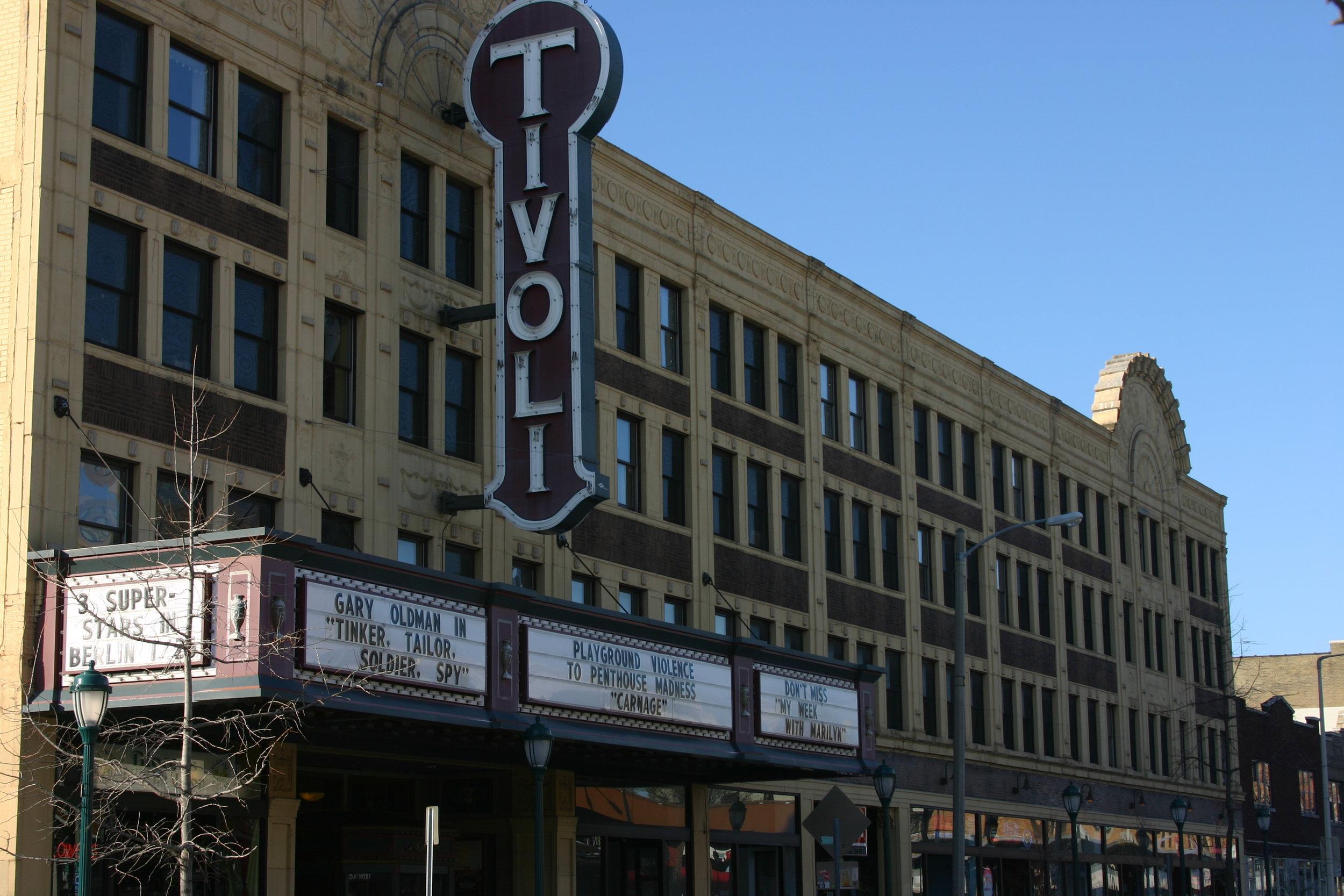 Tivoli Theater, Delmar Loop, St. Louis, January 2012