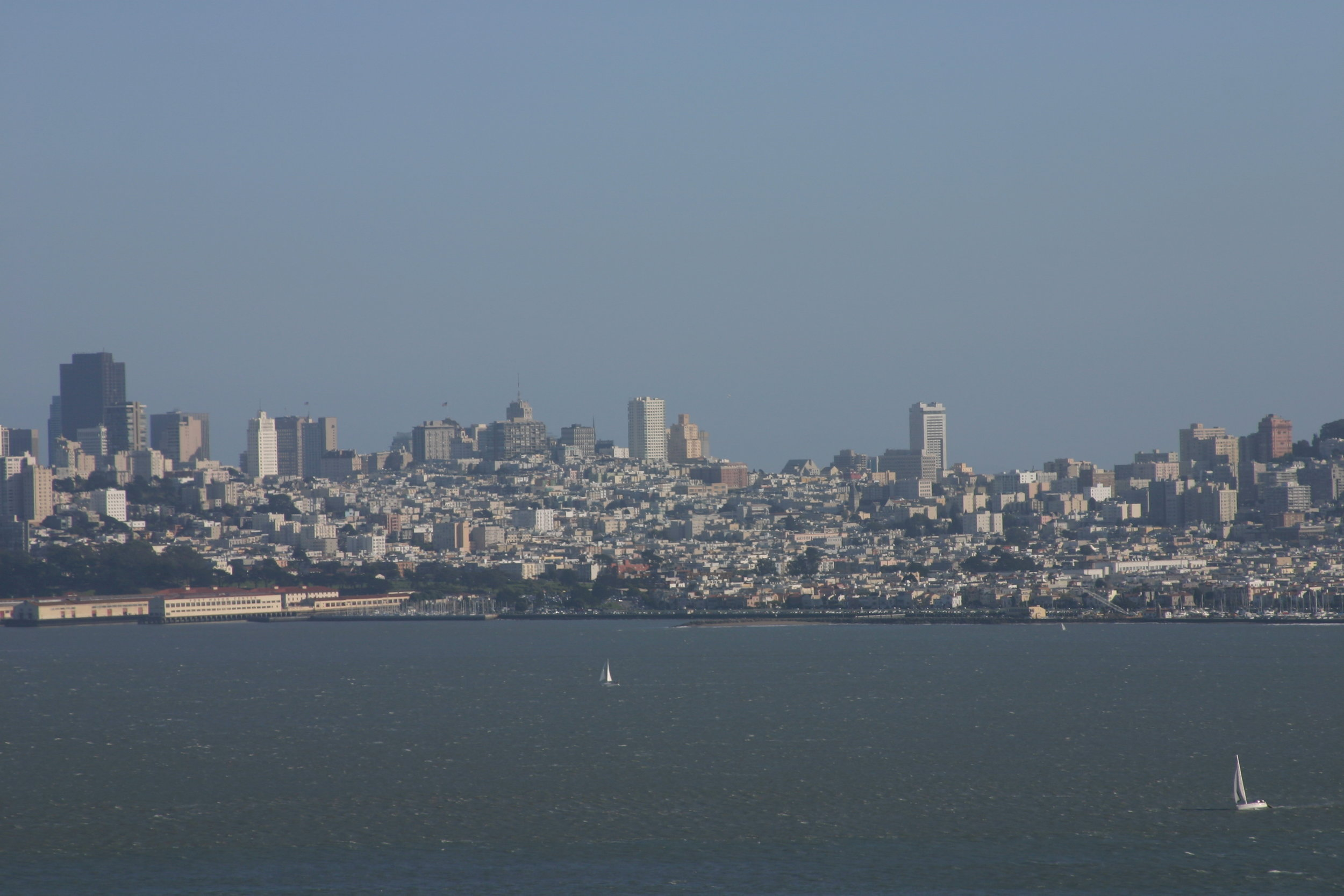 San Francisco from Marin, February 2012, Photo Credit: Kate Gallery