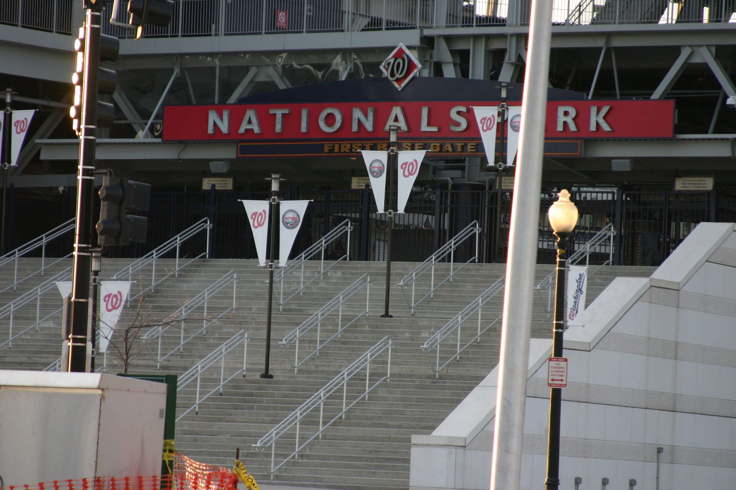 Nationals Park, Navy Yard, Washington, DC, February 2012