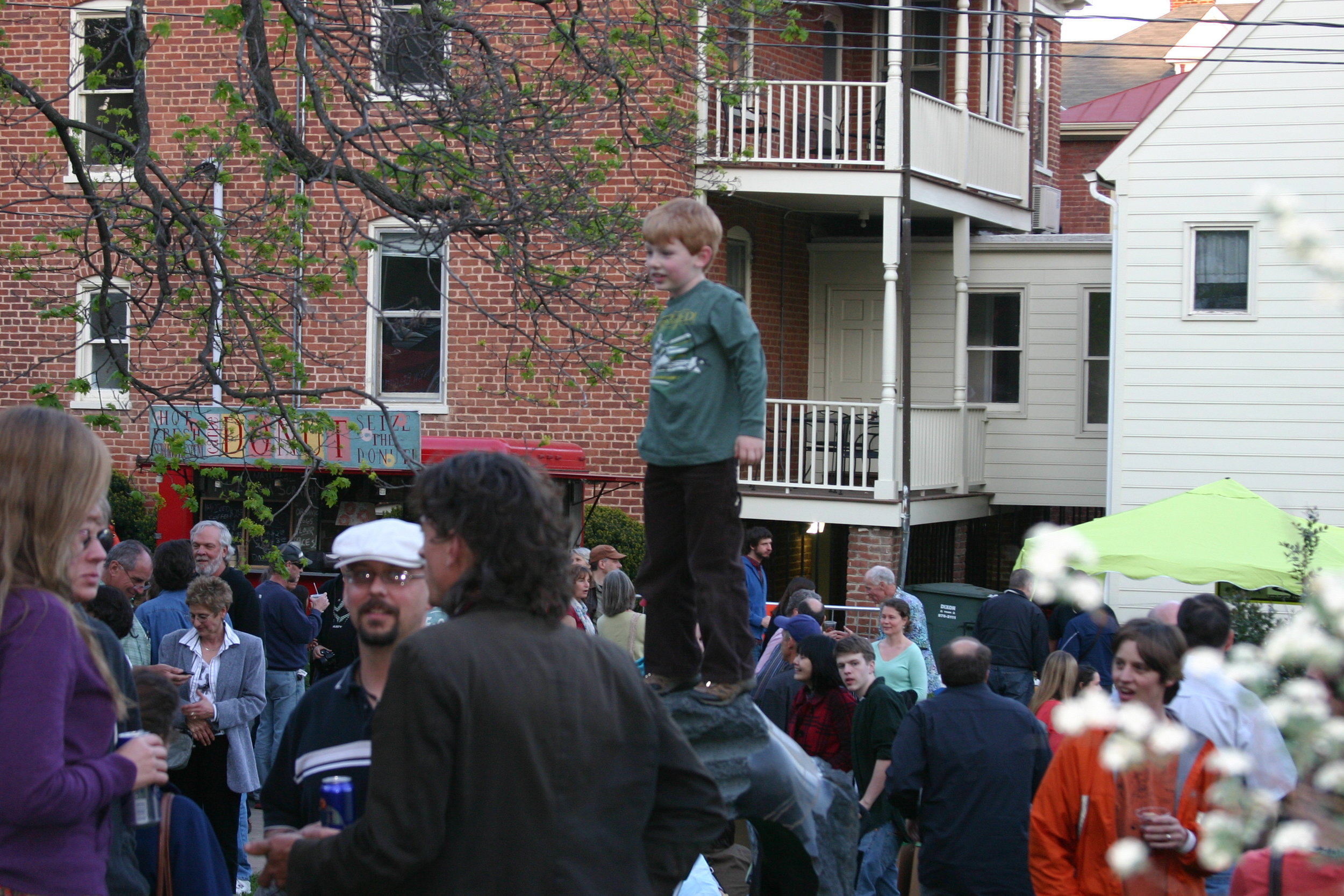 Block Party, Charlottesville, Va., April 2012